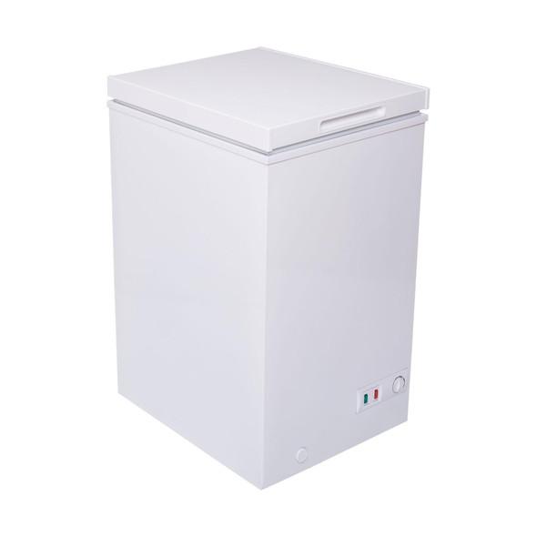 SIA CHF100W 48cm Freestanding Slimline White Chest Freezer | A+ Energy Rating