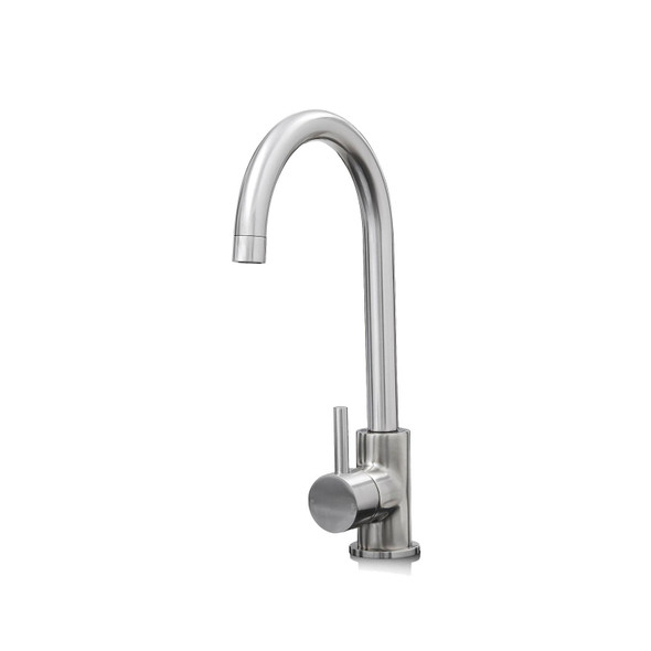 Franke Aveta 1.5 Bowl Stone Tectonite Sink & Modern Brushed Nickel Mixer Tap