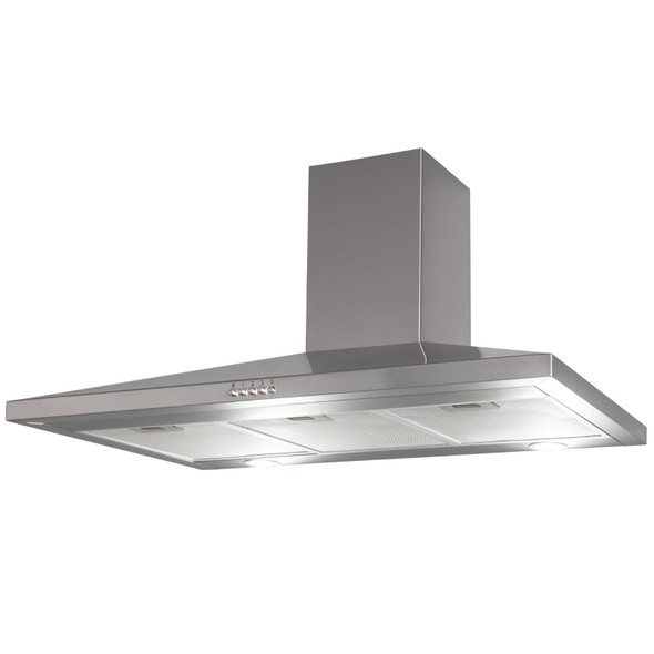 SIA CHL100SS 100cm Stainless Steel Chimney Cooker Hood Kitchen Extractor Fan