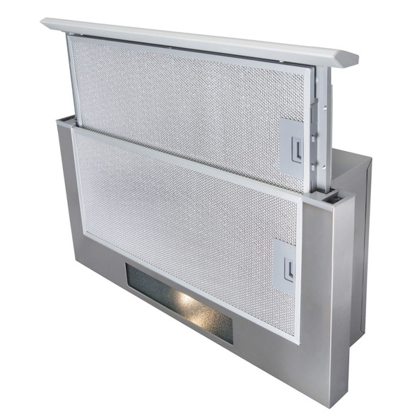 SIA TSH60SS 60cm Stainless Steel Telescopic Integrated Cooker Hood Extractor Fan
