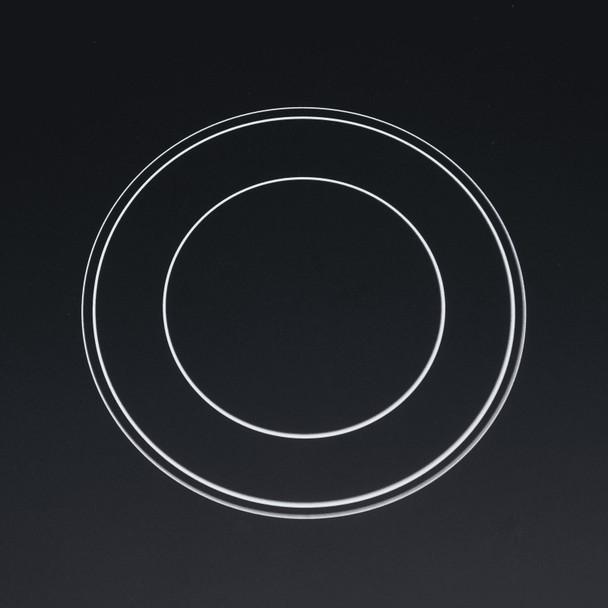 SIA CERH90BL 90cm Black 5 Zone Frameless Touch Control Electric Ceramic Hob