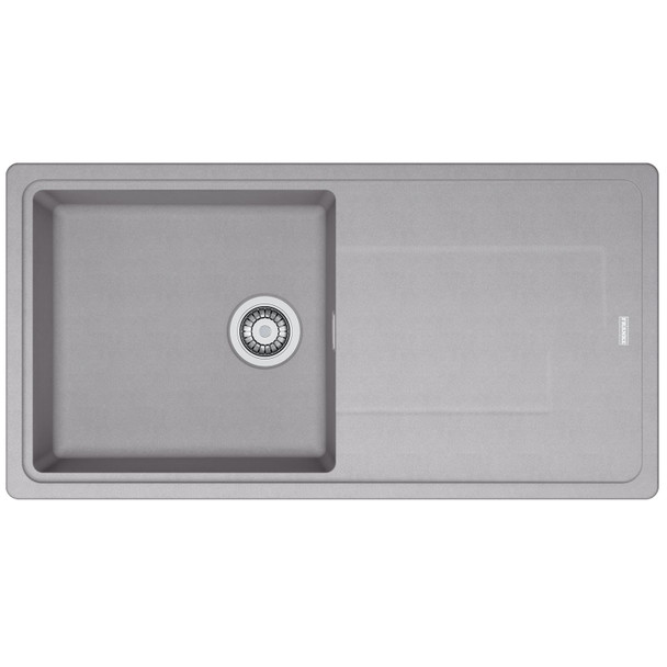 Franke Gemini 1.0 Bowl Tectonite Reversible Grey Kitchen Sink And Waste Kit