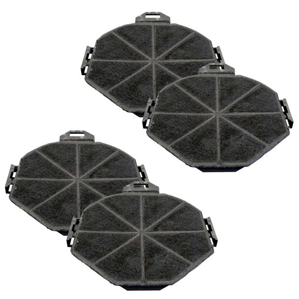2x SIA1 Carbon Re-circulation Filters For SIA Kitchen Cooker Hood Extractor Fans