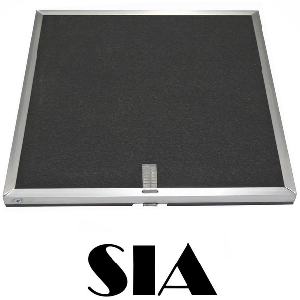 SIA CO8 Cooker Hood Extractor Fan Carbon Recirculation Filters for SIA Downdraft
