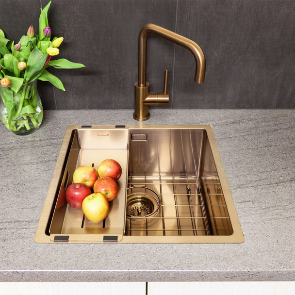 Reginox R3005 Copper Coloured Bottom Grid Accessory For MIAMI40X40 COPPER Sinks