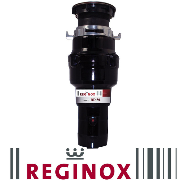 Reginox RD 50 Kitchen Sink Waste Disposal Unit 0.5 HP 2600 RPM