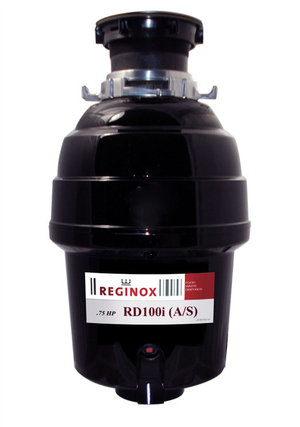 Reginox RD 100i A/S Kitchen Sink Waste Disposal Unit 0.75 HP 2700 RPM