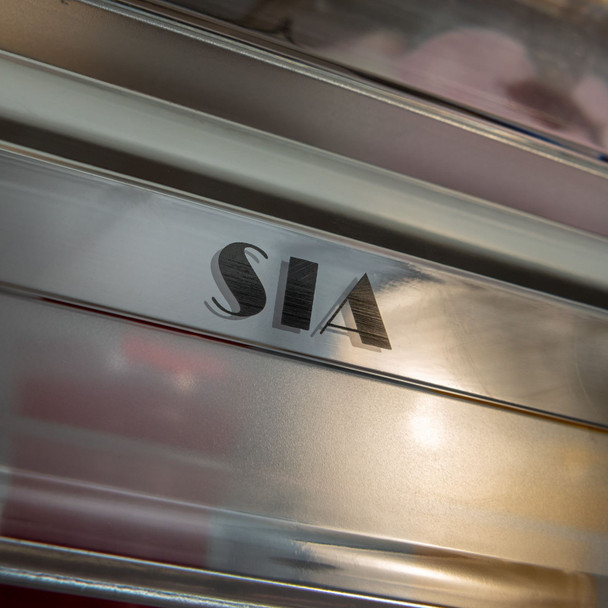 SIA 54cm White Fully Integrated Tall Freezer &Larder Fridge Twin Pack A+ Rating