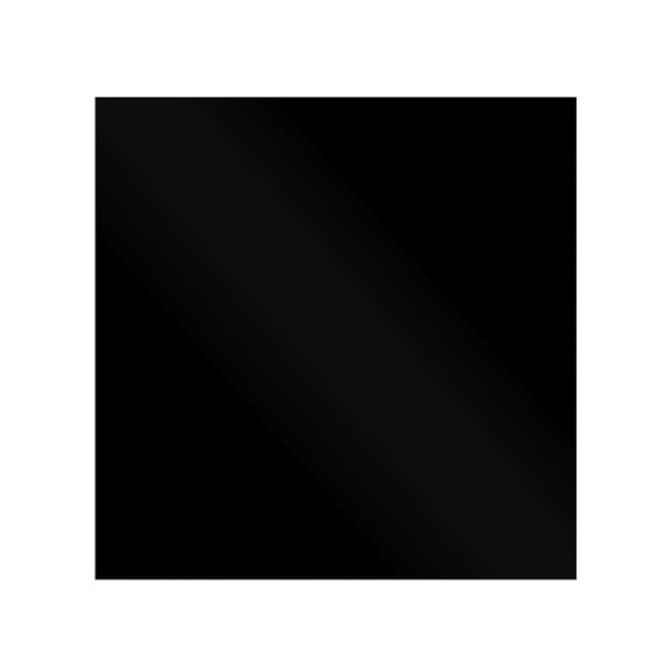 SIA CHL60BL 60cm Black Chimney Cooker Hood And 60cm Toughened Glass Splashback