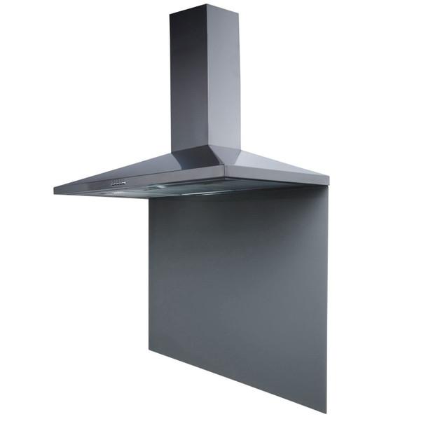 SIA SP100GY 100cm x 75cm Grey Toughened Glass Kitchen Splashback