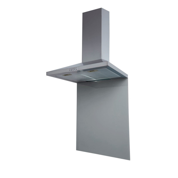 SIA SP70GY 70cm x 75cm Grey Toughened Kitchen Glass Splashback
