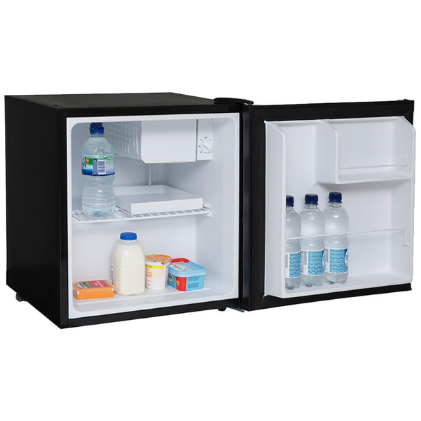 SIA TT01BL Table Top Mini Beer & Drinks Fridge With Ice Box In Black | A+ Rated