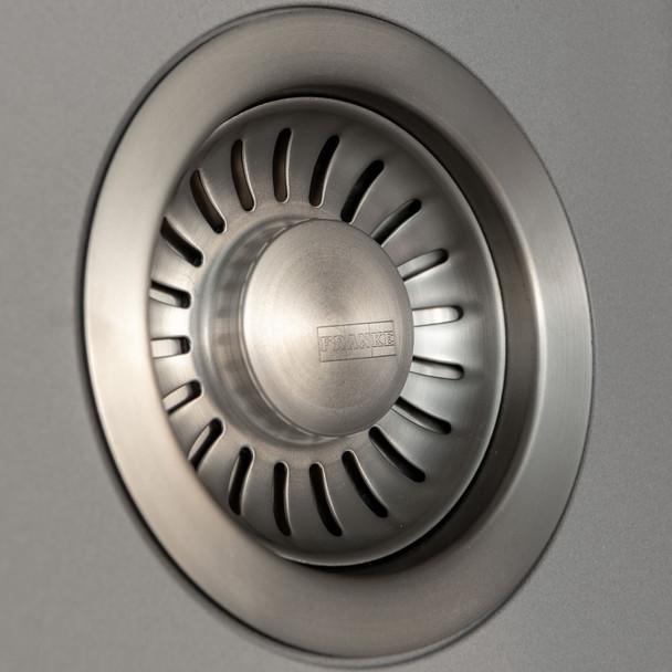 Franke Gemini 1.5 Bowl Tectonite Reversible Grey Kitchen Sink And Waste Kit