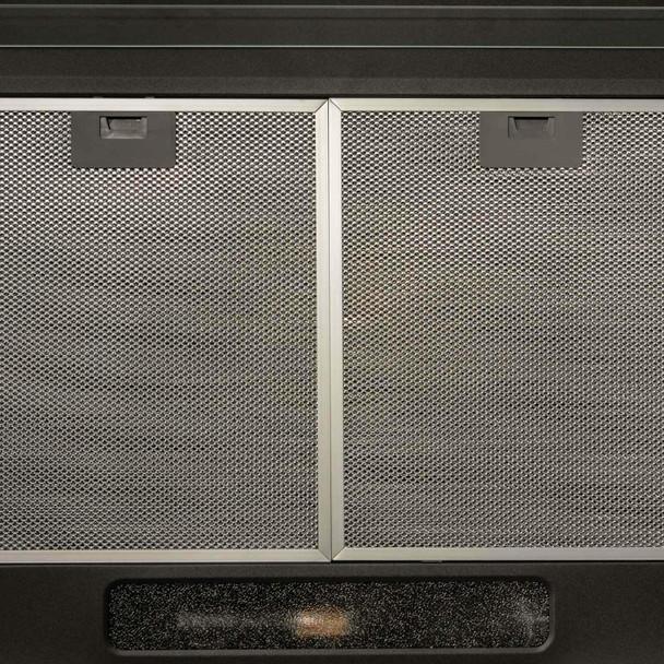 SIA 30cm 2 Zone Black Electric Domino Induction Hob & 60cm Visor Cooker Hood Fan