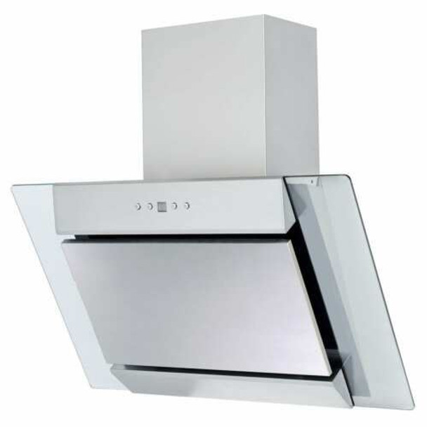 SIA 60cm Stainless Steel Oven, 4 Zone Induction Hob & Angled Glass Extractor Fan