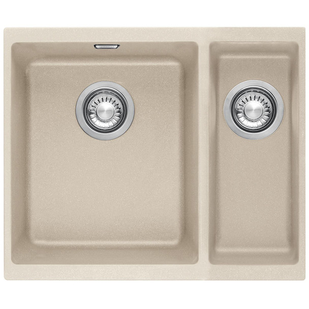 Franke SID 160 1.5 Bowl Coffee Tectonite Undermount Kitchen Sink And Waste Kit