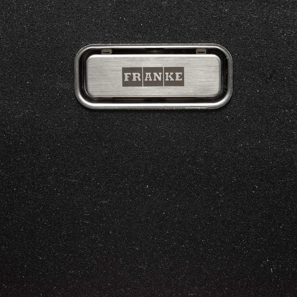 Franke Gemini 1.5 Bowl Black Kitchen Sink And Clearwater Creta Chrome Mixer Tap