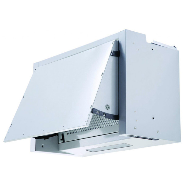 SIA INT60SS 60cm Silver Integrated Built In Cooker Hood Kitchen Extractor Fan