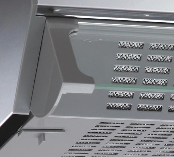 CDA CST61SS 60cm Stainless Steel Slimline Visor Cooker Hood Extractor Fan