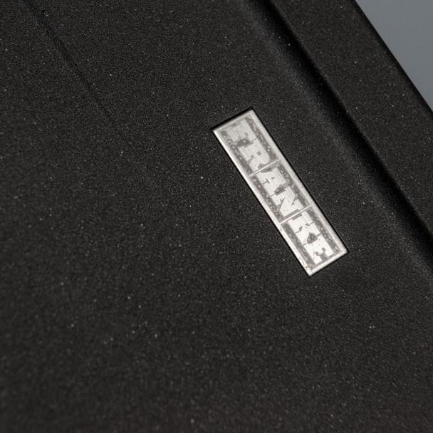 Franke Gemini 1.5 Bowl Black Reversible Kitchen Sink & CDA TC10 Chrome Mixer Tap