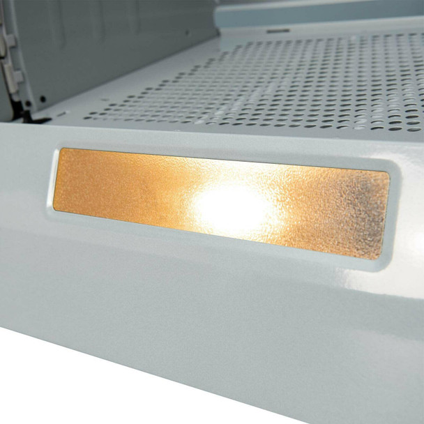 SIA INT60SS 60cm Silver Integrated Built In Kitchen Cooker Hood And 3m Ducting