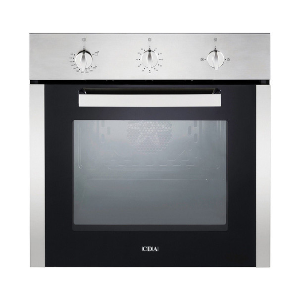 CDA SG120SS Stainless Steel Built In 78L Multi Function Single Gas Oven With Fan