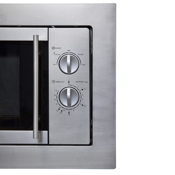 SIA BIM10SS 20L Integrated Built in Microwave Oven in Stainless Steel
