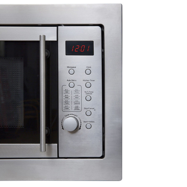SIA BIM20SS Stainless Steel 20L Integrated Built in Digital Timer Microwave Oven