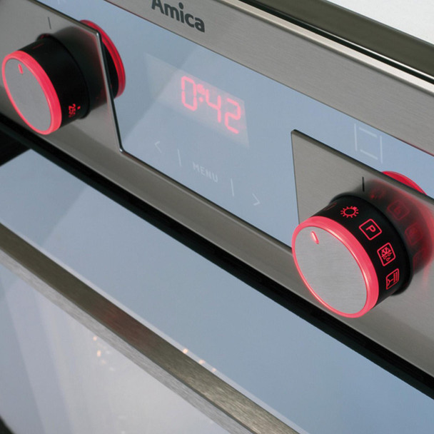 Amica ASC460SS 60cm 10 Function Pyrolytic Self Cleaning Single Electric Fan Oven