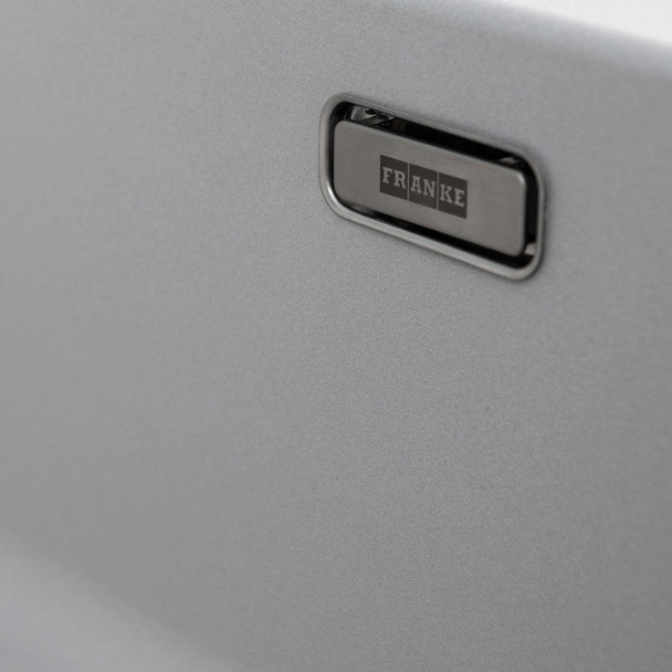 Franke Aveta 1.5 Bowl Stone Tectonite Sink & Brushed Nickel Twin Mixer Tap