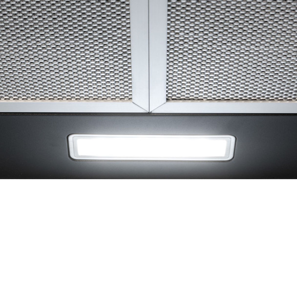 SIA CHL70BL 70cm Chimney Cooker Hood Kitchen Extractor Fan in Black