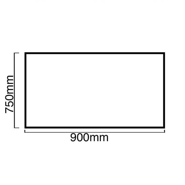 SIA 90cm Black 3 Colour LED Edge Lit Angled Cooker Hood And Glass Splashback