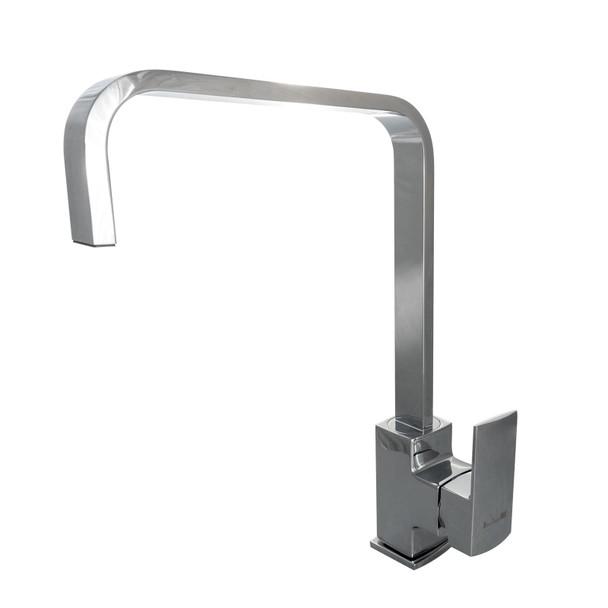 Franke Aveta 1.0 Black Tectonite Kitchen Sink & Reginox Astoria Single Lever Tap