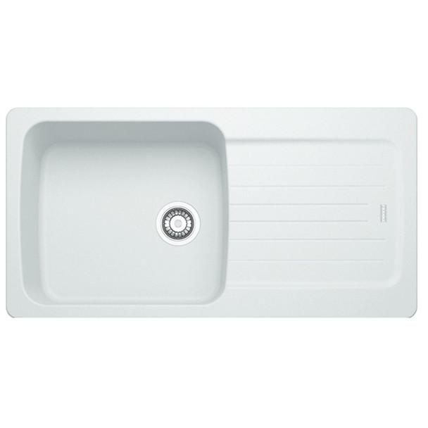 Franke Aveta 1.0 Bowl Ice White Tectonite Kitchen Sink And Reginox Brooklyn Tap