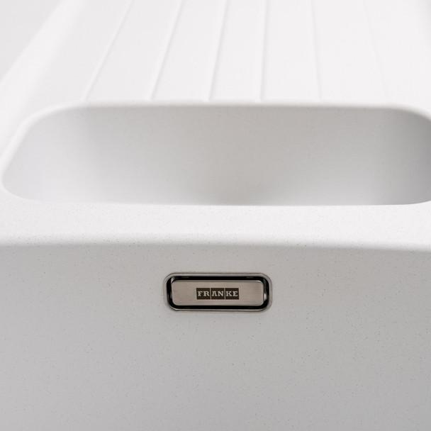 Franke Aveta 1.5 Bowl Ice White Tectonite Kitchen Sink And Reginox Brooklyn Tap