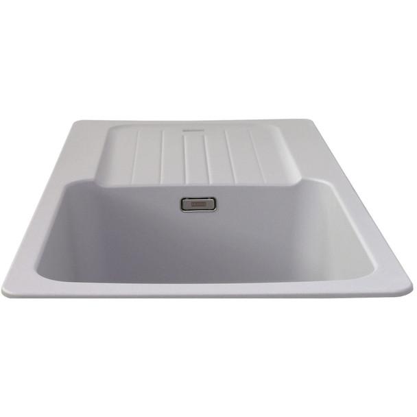 Franke Aveta 1.0 Bowl Stone Grey Tectonite Reversible Kitchen Sink And Waste Kit