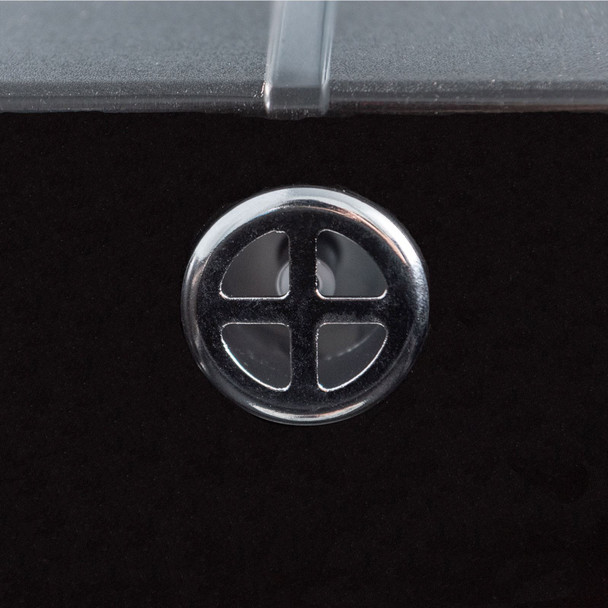 Astracast Sierra 1.0 Bowl Black Composite Kitchen Sink &Zeno Chrome Mixer Tap
