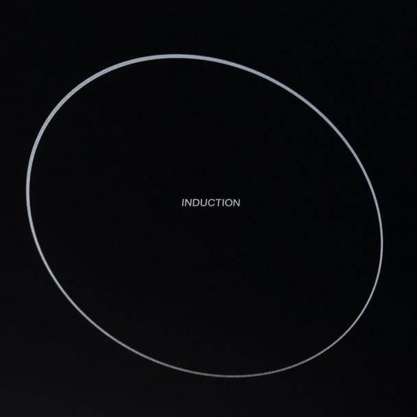 SIA 60cm Black 4 Zone Flexi-Bridge Touch Control Induction Hob & Curved Hood Fan