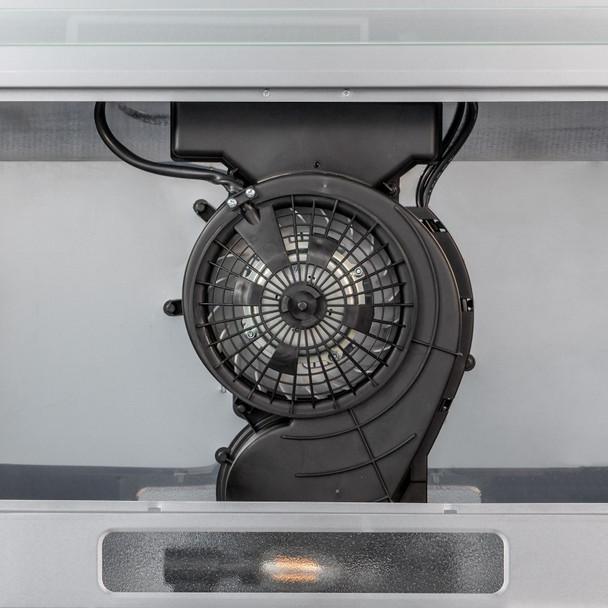 SIA VSR60SS 60cm Stainless Steel Visor Cooker Hood Extractor Fan &Carbon Filter