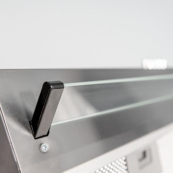 SIA VSR60SS 60cm Stainless Steel Visor Cooker Hood Kitchen Extractor Fan