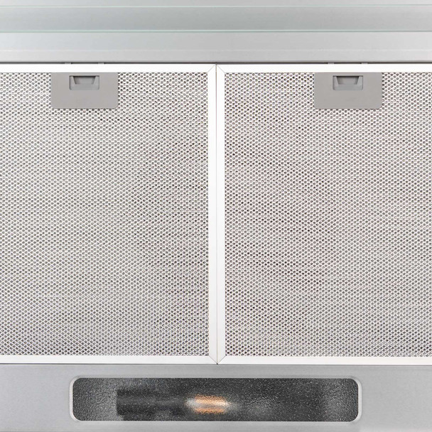 SIA VSR60SS 60cm Stainless Steel Visor Cooker Hood Kitchen Extractor Fan