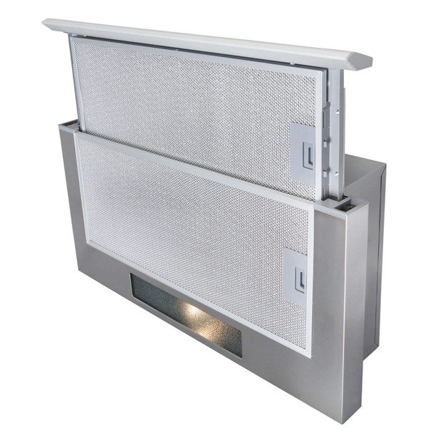 SIA TSH60SS 60cm Stainless Steel Telescopic Integrated Cooker Hood &3m Ducting