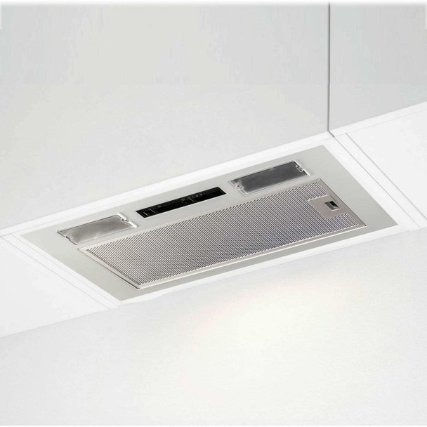 SIA UC52SI 52cm Built In Cupboard Canopy Cooker Hood Extractor Fan + 3m Ducting