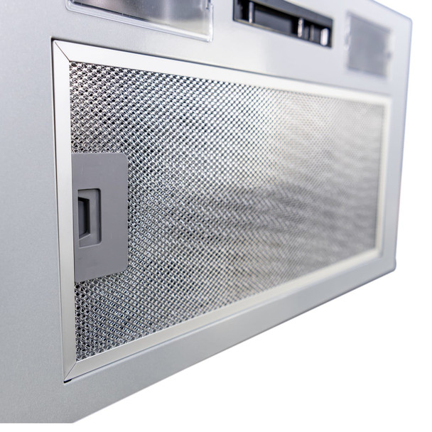 SIA UC52SI 52cm Built In Cupboard Canopy Cooker Hood Extractor Fan