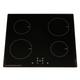 SIA 60cm Stainless Steel Single Oven, 4 Zone Induction Hob & Cooker Hood Visor