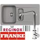 Franke Aveta 1.5 Bowl Grey Tectonite Kitchen Sink And Reginox Angel Mixer Tap