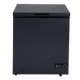 SIA CHF150B 74cm Freestanding 155L Black Chest Freezer With A+ Energy Rating