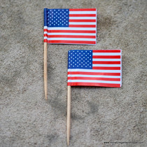 American Flag Lawn Decorations
