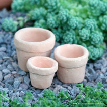 Antique Garden Pots (Set of 3)