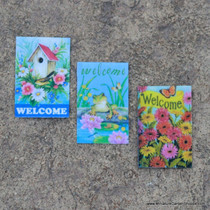 Welcome Garden Flags